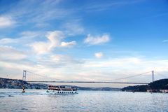 Istanbul seascape Stock Photography