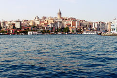 Istanbul seascape Royalty Free Stock Photography
