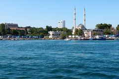 Istanbul seascape stock images