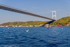 Istanbul Second bridge Stock Photos
