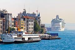 Istanbul-Seehafen stockfotos