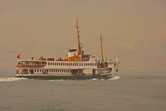istanbul ship Royaltyfri Bild