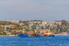 Istanbul ship sailing Royalty Free Stock Image
