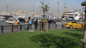 Istanbul, ship, transportation, Turkey. Istanbul, ship, transportation Turkey Bosphorus city ocean, marine stock video