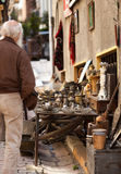 Istanbul Side Street Items Royalty Free Stock Images
