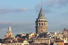 Istanbul sightseeing Galata tower Stock Photo