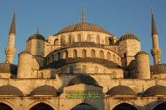Istanbul sightseeing: Mosque Dome Royalty Free Stock Photo