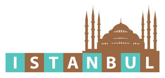 Istanbul sign Royalty Free Stock Photo