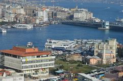 Istanbul Sirkeci bosphorous Images stock