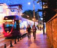 Istanbul skizziert Reihe Lizenzfreie Stockfotografie
