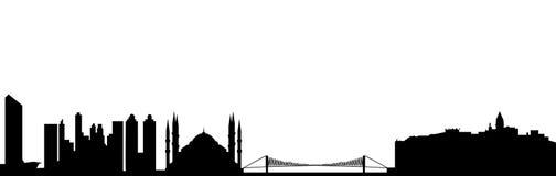 Istanbul skyline Stock Photos