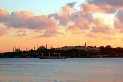 Istanbul skyline Stock Images