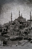 Istanbul skyline Royalty Free Stock Photo