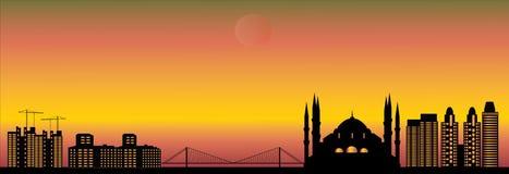 Istanbul skyline Stock Photography