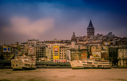 Istanbul skyline Stock Photo