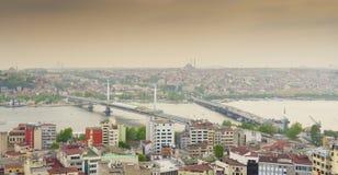 Istanbul skyline Royalty Free Stock Photo