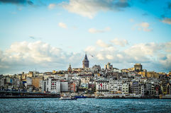 Istanbul Skyline With Galata Tower Stock Image