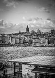 Istanbul Skyline With Galata Tower Royalty Free Stock Photo