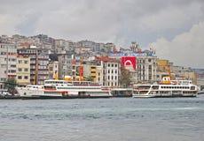 Istanbul skyline, Turkey Stock Photos