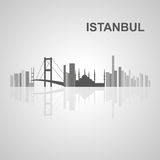Istanbul skyline  for your design Royalty Free Stock Photo
