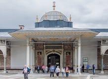 istanbul slotttopkapi Fotografering för Bildbyråer