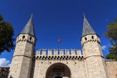 istanbul slotttopkapi Royaltyfri Fotografi