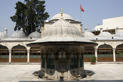 Istanbul - Sokollu Mosque, ablution fountain royalty free stock photos