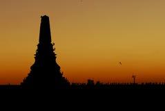 Istanbul-Sonnenuntergang Stockfotografie