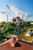 Istanbul am sonnigen Tag Stockbild