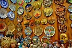 Istanbul souvenir arkivbilder