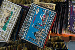 Istanbul souvenirs. Coin purses Stock Images