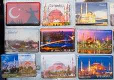 Istanbul souvenirs royalty free stock photography