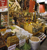 Istanbul - Spice Bazaar - Spices royalty free stock photography