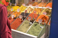 Istanbul Spice bazaar Royalty Free Stock Image