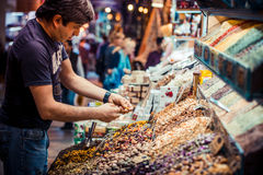 Istanbul Spice market Stock Photography