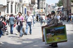 istanbul sprzedawca uliczny zdjęcie stock