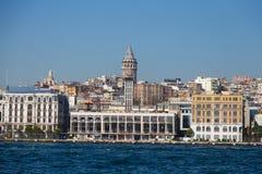 Istanbul stad Fotografering för Bildbyråer
