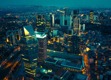 Istanbul stad Arkivfoto