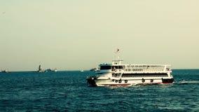 Istanbul stadsfärja arkivfilmer