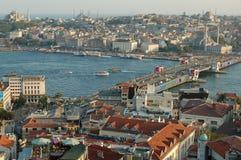 Istanbul-Stadtbild Stockfoto