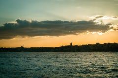 Istanbul-Stadtbild in der Türkei Stockbild