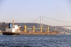 Istanbul-Stadtdampfer Stockbilder