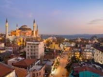Istanbul-Stadtstraße Stockbild