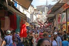 Istanbul Street Market Stock Photo