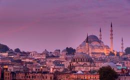 Istanbul before sunrise Royalty Free Stock Photos