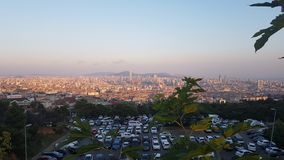 istanbul sunset στοκ εικόνα με δικαίωμα ελεύθερης χρήσης