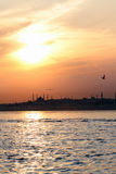 Istanbul Sunset Stock Photos