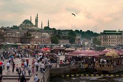 Istanbul sunset Royalty Free Stock Images