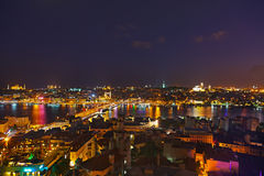 Istanbul sunset Royalty Free Stock Photos