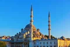 Istanbul sunset. Panorama - Turkey travel background stock photography